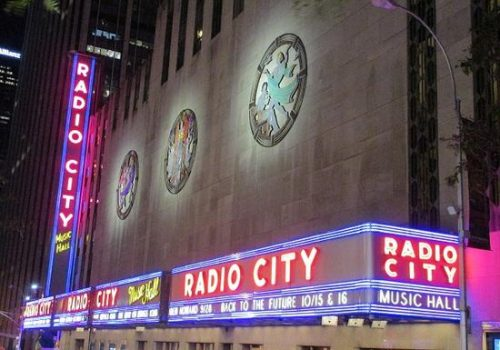 Clowing Around Radio City Music Hall